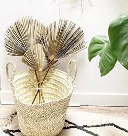 Exotic decoration basket XXL