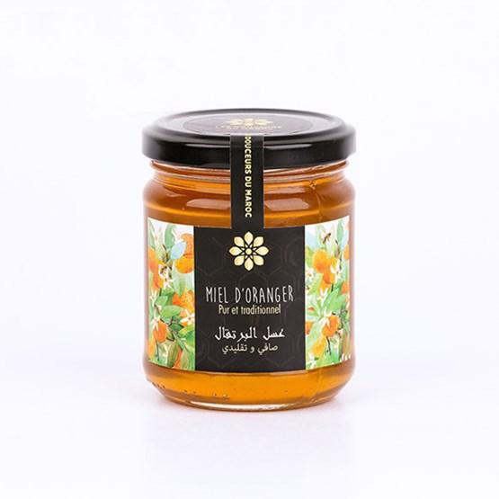 Miel de fleur d'oranger  - Design : LES DOUCEURS DU MAROC