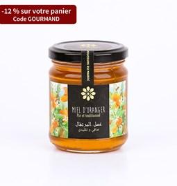 Miel de fleur d'oranger 250 gr