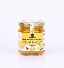 Lemon confit with saffron 180 gr