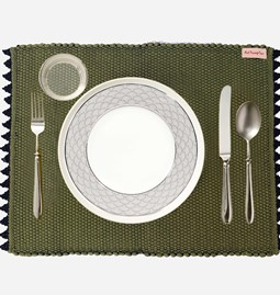 Lot de 4 Sets de table finition crochets