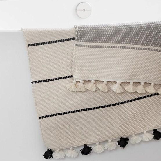 Tapis Glams salle de bain    - Design : COOPERATIVE TISSAGE ARTISTIQUE
