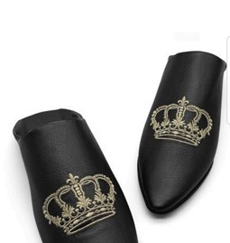 Babouches Boosh Royale Black