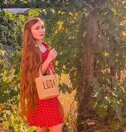 Panier Sofia en rafia