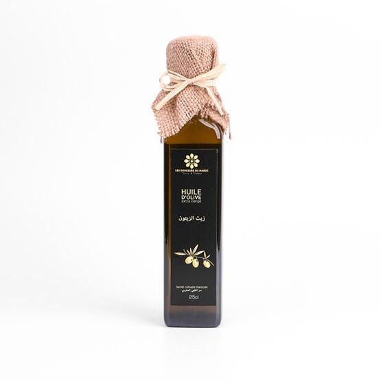 Huile d'olive extra-vierge   - Design : LES DOUCEURS DU MAROC