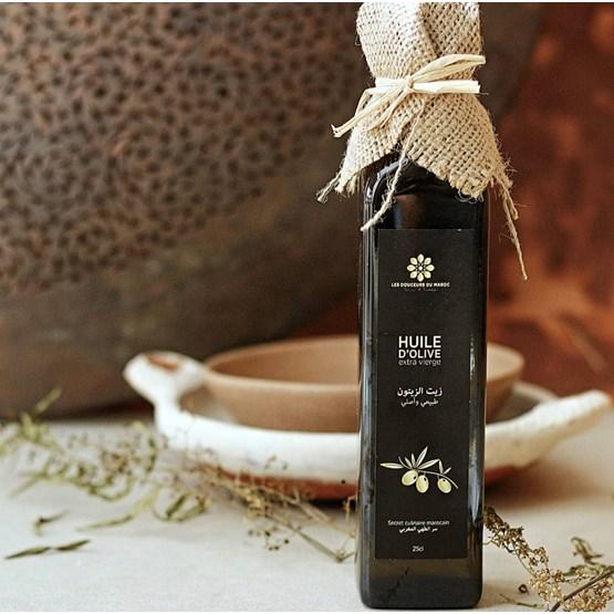 Huile d'olive extra-vierge 250ml - Design : LES DOUCEURS DU MAROC