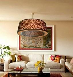 Luminaire Suspension contemporaine Luxe design à cœur