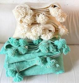 Couverture Karima 100 % laine