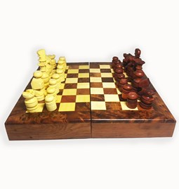 Chess and Draughts game box