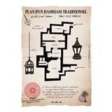 Plan d'un Hammam traditionnel (1) 3