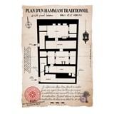 Plan d'un Hammam traditionnel (2) 3