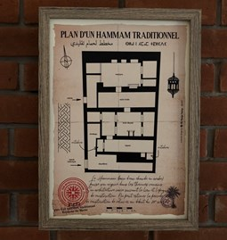 Plan d'un Hammam traditionnel (2)
