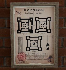 Plan of a Kasbah