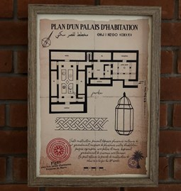 Plan d'un Palais d'habitation
