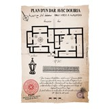 Plan d'un Dar avec Douiria 3
