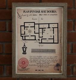 """Plan of a """"Dar avec Douiria"""""""