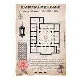 Plan d'un Dar avec hammam 3