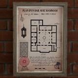 Plan d'un Dar avec hammam 2