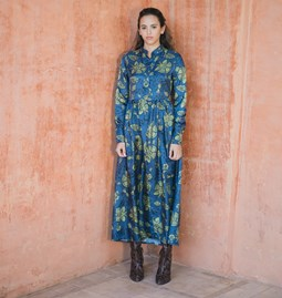 Robe Delphine motif asiatique