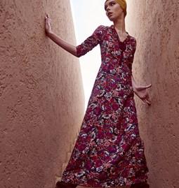 Hanane Dress Flower Print