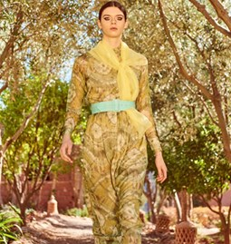 Robe Delphine en soie