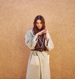Sophia's Coat Light Grey