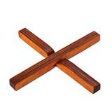 Sous plat Magnétique en bois - X 2
