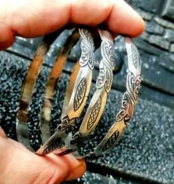 3 Bracelets ethniques