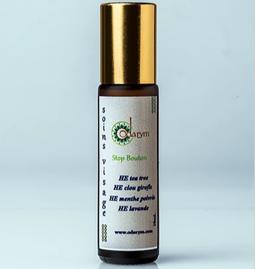 Stop-boutons aux huiles essentielles