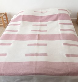 Powder pink bed cover - Ref.1