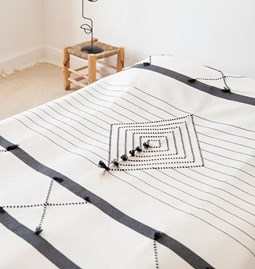 Graphic bed cover - Ref.5