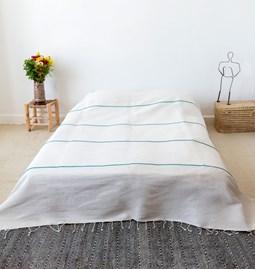 Couvre lit menthe à l'eau - Réf.6