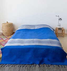 Majorelle bed cover - Ref.12