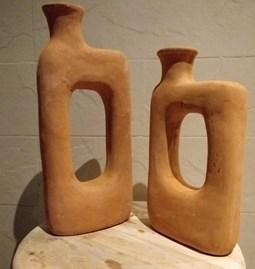 Terracotta Design Vase