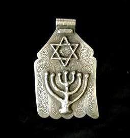 Collier Khamssa Hanukkah