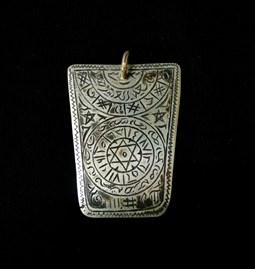 "Amulette ""La tabula magique"""