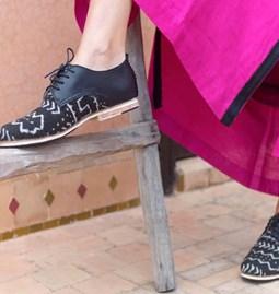 Chaussures Africain noir