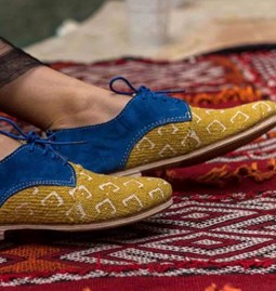 Chaussures Africain Moutarde