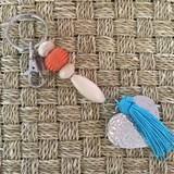 Porte clefs/bijoux de sacs love 2