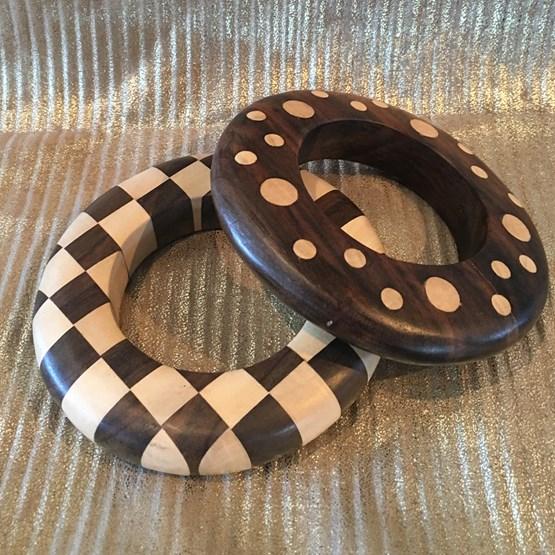 2 Bracelets bangles GI - Design : SAMPARELY BY KOSOSO