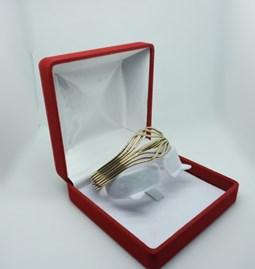 Bracelet volutes en cuivre