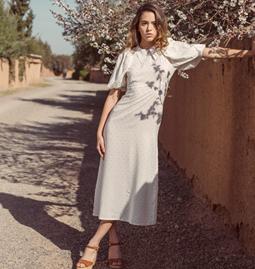 Audrey's cotton dress