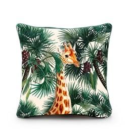 Housse de coussin girafe
