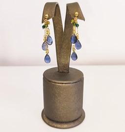 Boucle d'oreilles amazing blue
