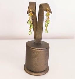 Boucle d'oreilles amazing green