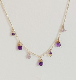 Collier Amazing Purple