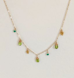 Collier Amazing Green