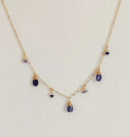 Collier Amazing blue