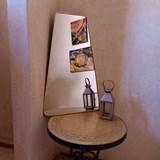Miroir trapèze en laiton 3