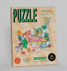 Puzzle Renard de la kasbah
